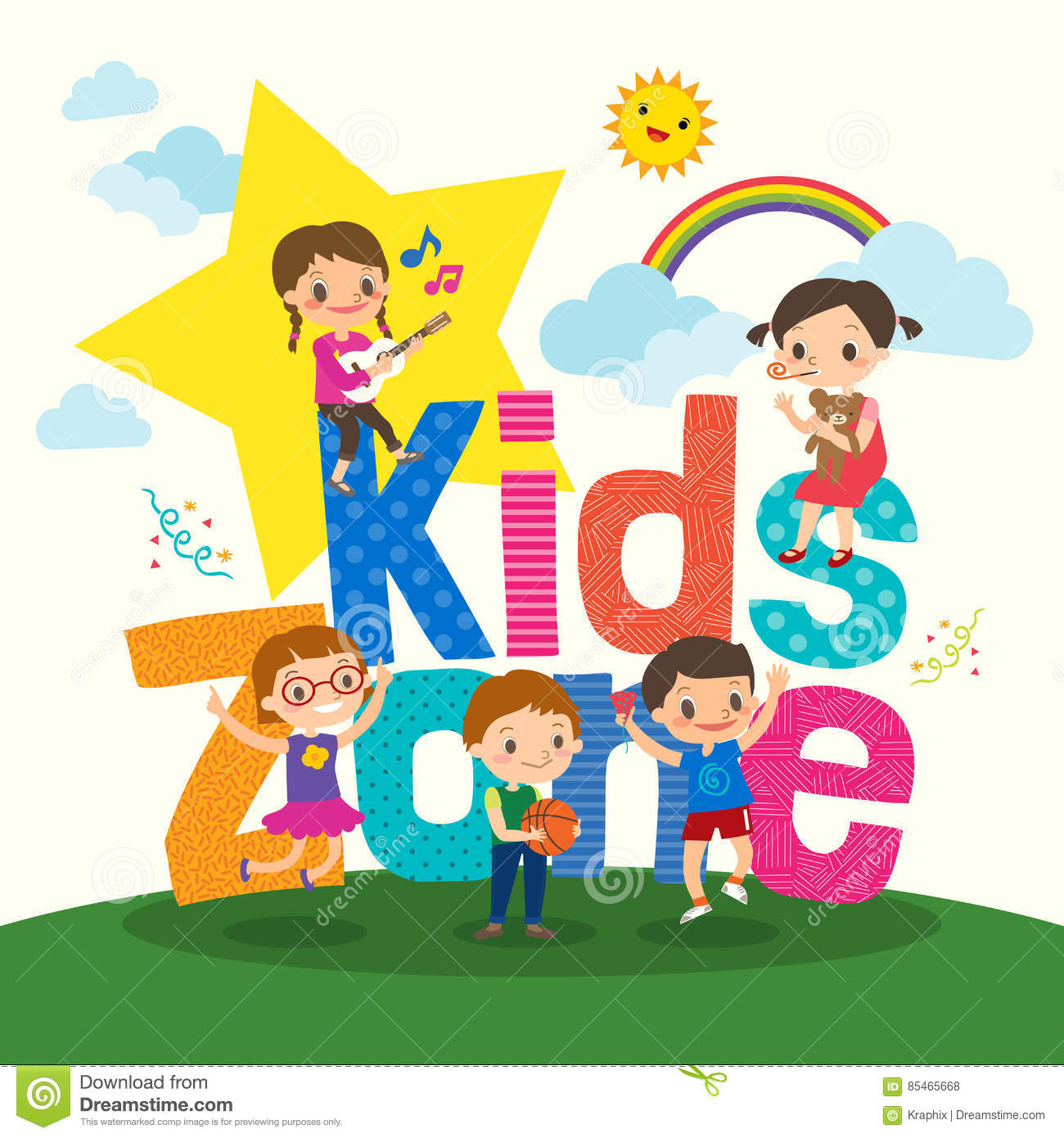 9e97d990ac1f84c83ffa8e2910794f2d_group-young-children-kids-zone-word-cartoon-illustration-vector-85465668.jpg